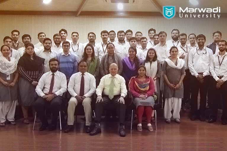 Marwadi University, hosting faculty development programs