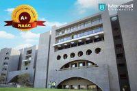 NAAC A+ accreditation - Marwadi