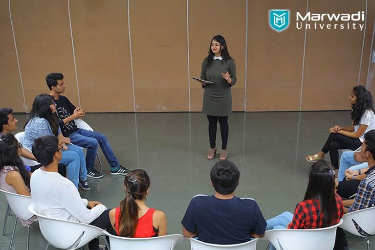 Get 360-degree education at Marwadi University