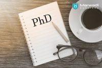 Ph.D. degree by Marwadi university