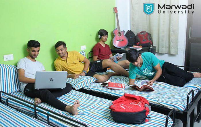 Hostel Facility at Marwadi University