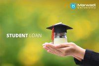 education loan facility by marwadi university