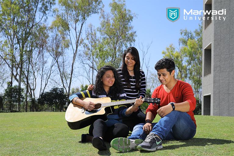 Discover the campus life at Marwadi University