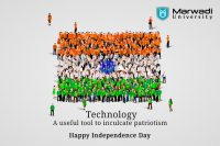 Celebrate Independence Day with marwadi university