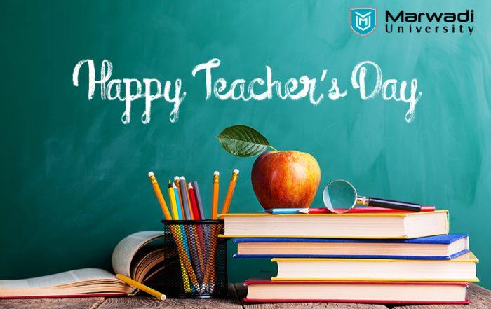 Importance of Teacher's - Marwadi University