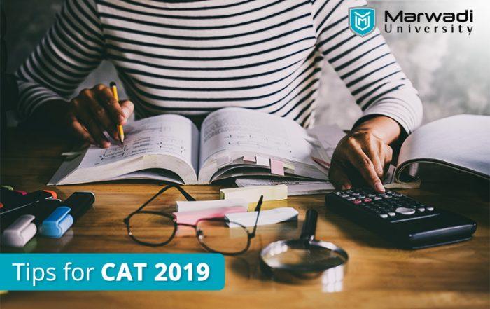CAT Exam preparation Tips 2019 by Marwadi University