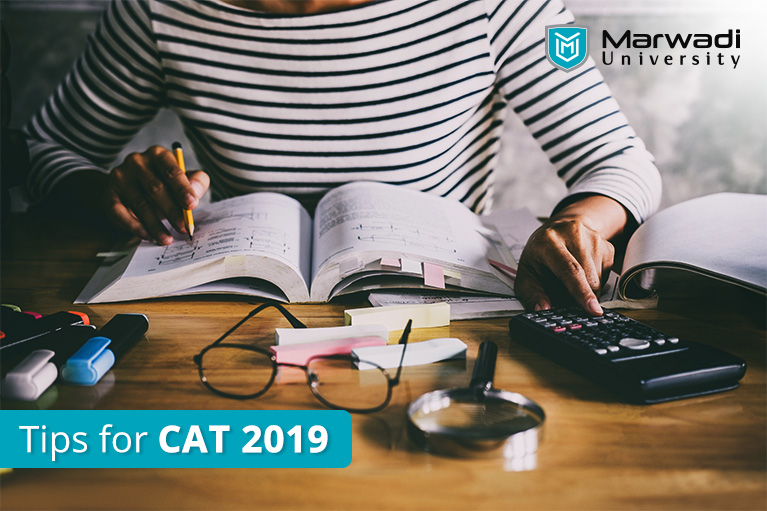 CAT Exam preparation Tips 2019 by Marwadi University