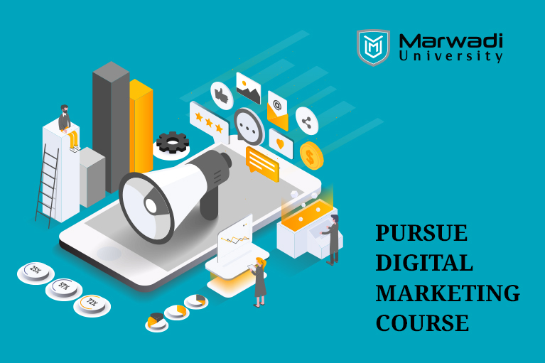 online marketing for our business by marwadi university