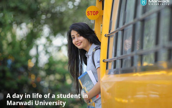 Life and Study at Marwadi University