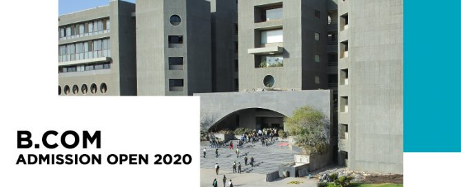 bachelor of commerce Admission open 2020