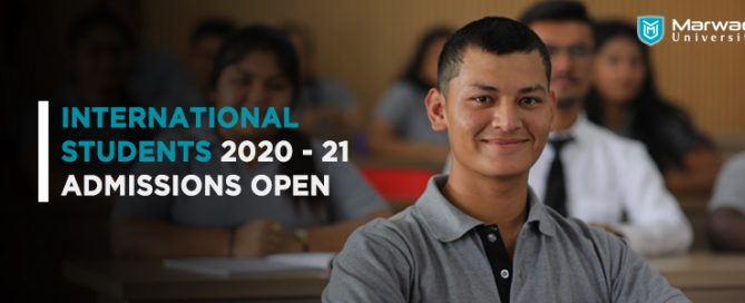 International open - Marwadi University