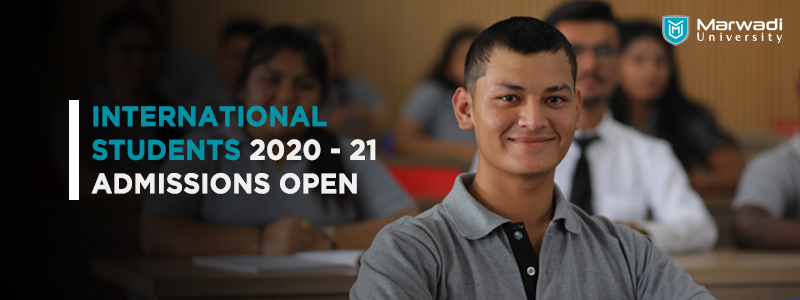 International Student's Admissions 2020-21