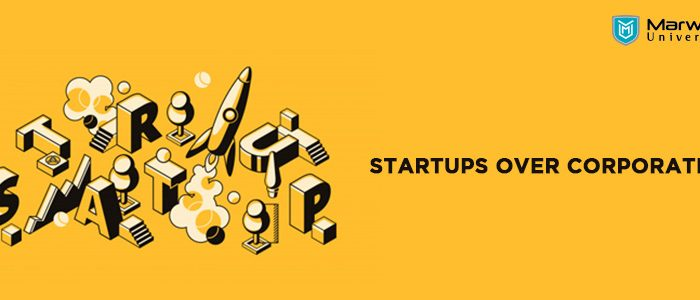 Start up or corporate? for us - MU