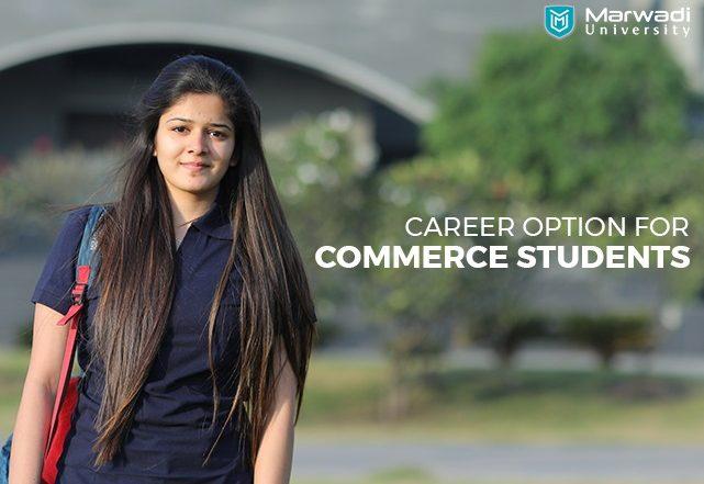 career option for commerce student- marwadi university