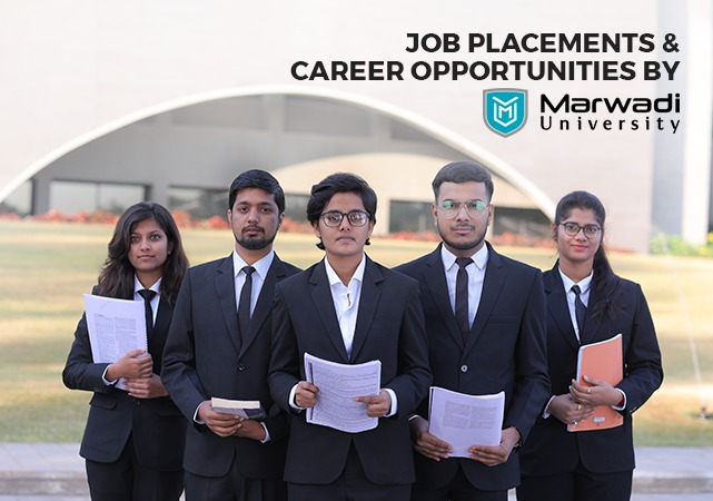Job Placements Opportunities by Marwadi University