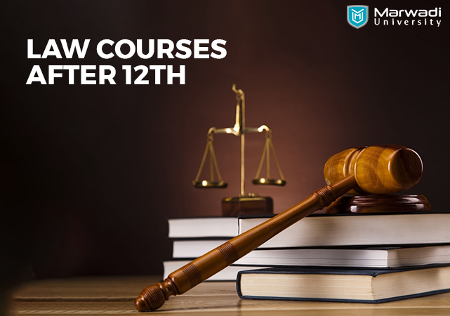 Law courses after 12th - Marwadi University