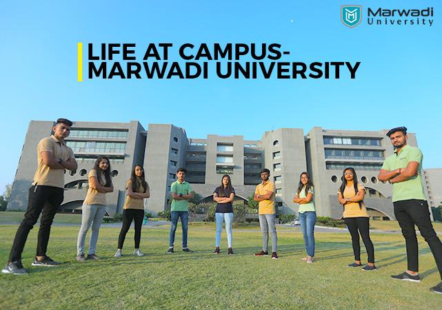 Marwadi University- Life at Campus