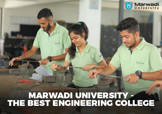 Best Engineering College in Rajkot – Marwadi University