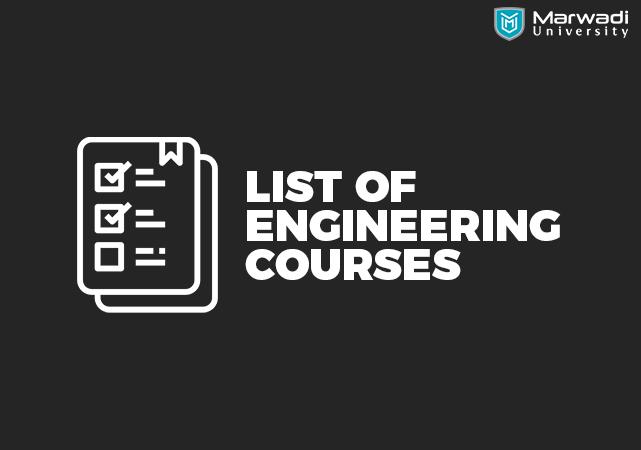 A Complete List of Engineering courses (B.E/B.Tech/Diploma/M.E/M.Tech)