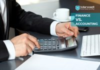 Finance Vs. Accounting Marwadi University